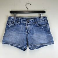 BKE Denim - Casual Shorts Distressed Wash - Measured Size: 29x3.5 - #6205