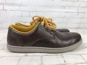 CLARKS Boys Brown Shoes Size UK 2G