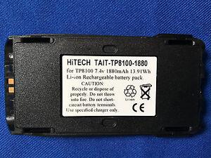 10 of Hitech TAIT TP8110/TP8115/TP9300/TP9400...Japan Li-ion2A13.9wh Battery Pk