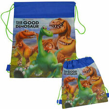 LOT 12 DISNEY THE GOOD DINOSAUR Tote Sport Sling Bag Backpack PARTY FAVOR Blue