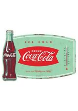 Classic Retro Coca-Cola Thermometer Replica Metal Tin Sign