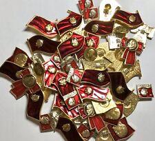 50x's Soviet USSR Various Lenin Pin Badge Medal NEW Old Stock NOS Lot #2