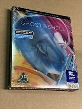 Ghost in the Shell STEELBOOK (4K UHD+Blu-ray+Digital) NEW!