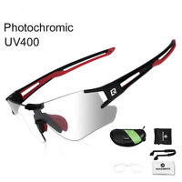 Photochromic Cycling Glasses Bike Bicycle SportsS unglasses Protection Eyewear
