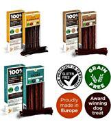 3 x 50g HYPOALLERGENIC Variety Pure Dried 100% Fresh Meat Sticks Dog Treat