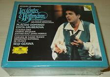 OFFENBACH-LES CONTES D'HOFFMANN-DG 2xCD 1989-SEIJI OZAWA/DOMINGO-UNPLAYED-MINT