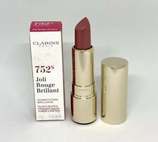 Clarins Joli Rouge Brilliant Lipstick ~ 752s Rosewood~ 0.1 oz New