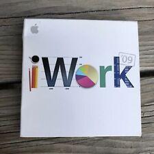 Apple iWork 09 Software v9.0 Install DVD Mac Macintosh Office Disc 2009 Computer