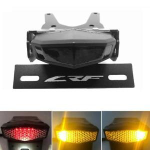 For HONDA CRF250L 13-2019 LED Tail Light Turn Signal Tail Tidy Fender Eliminator