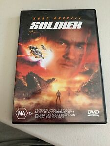 Soldier (DVD, 2000) Region 4 Double Sided Disc Kurt Russell Rare