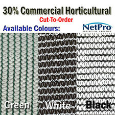 2m wide 30% Shade Cloth Horticultural Grade 90gsm - 5 metre piece