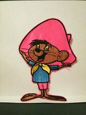 "Speedy Gonzales LOONEY TUNES  6""x4"" Embroidered  Sew-On Patch Never Used Vintage"