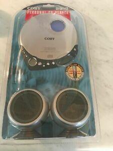 COBY Personal CD Player w/ Headphones CX-CD1112