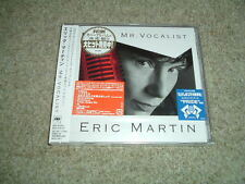 ERIC MARTIN (MR BIG) - MR. VOCALIST - CD ALBUM - JAPANESE IMPORT - NEW/SEALED