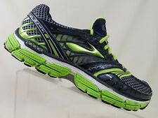 Brooks Glycerin 9 DNA Running Tennis Shoes Black/Green Sneakers Men's Size 10 M