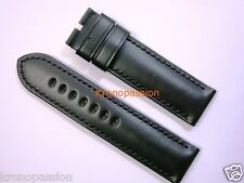 Panerai Black Rugby Strap 26mm by 26mm XL Size for Luminor 47mm OEM New !