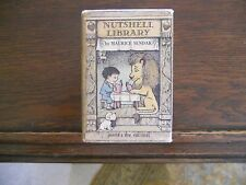 THE NUTSHELL LIBRARY, Maurice Sendak, 1962, 1st edition Harper & Row