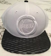 Houston Rockets New Era NWT White Black Snapback Hat Cap 9fifty Original Fit
