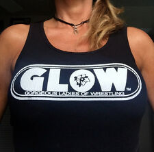 G.L.O.W. Tank 50/50 Crew, Short Sleeve-  S M L Only Black - email me for sizes