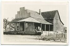 PINE RIDGE AR VINTAGE PHOTO POSTCARD Sister Simpson's Boarding House