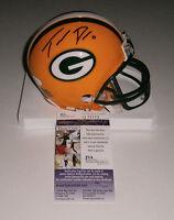 PACKERS Trevor Davis signed mini helmet w/ #11 JSA COA AUTO Autographed ROOKIE