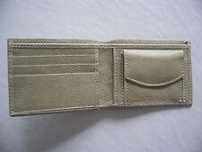 Leather Wallet Handmade Bifold Men Purse Genuine Leather Card Holder Coin Pocket