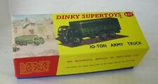 REPRO BOX DINKY n. 622 10 suono ARMY TRUCK