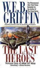 Lot of 7 W.E.B. Griffin-Men At War series P/B & H/B