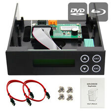 1-1 Blu-ray CD/DVD/BD SATA Duplicator Copier CONTROLLER +Cables, Screws & Manual