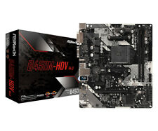Asrock AMD B450M-HDV R4.0 Micro ATX DDR4 Motherboard
