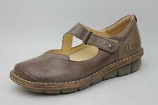 Wolky Schuhe grau Leder Wechselfußbett Gr. 38 (UK 5)