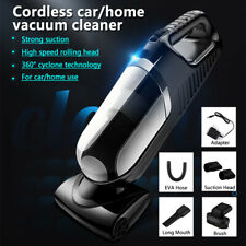 Car Vacuum Cleaner Auto Handheld Wet/Dry Duster Dirt Suction Portable Wireless