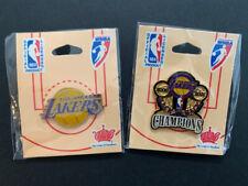 Los Angeles Lakers 2000 2001 NBA Champions Pins Lot of 2 Kobe Bryant