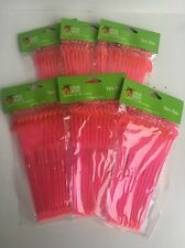 "Lot Of 72 Pink Flamingo Party Picks 8"" Long For Appetizers And Party Snacks"