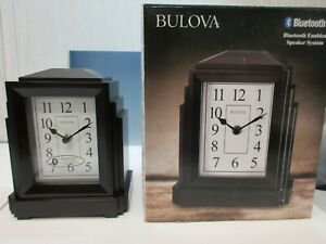 Bulova Clock Model B6218 Empire Quartz Movement With Bluetooth Technology