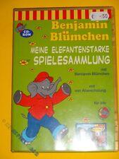 *CD* Benjamin Blümchen - Meine Elefantenstarke Spielesammlung * KIDDINX *
