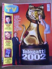 TV Sorrisi e Canzoni n°19 2002 Pippo Baudo Alessia Marcuzzi Renzo Arbore  [D53]
