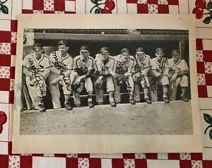 St Louis Cardinals 1940s Pitchers Signed Brecheen Lanier Munger Gumbert Krist