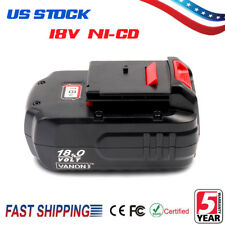 18V NiCd Replacement Battery for Porter Cable PC18B PCMVC 18-Volt Cordless Tool