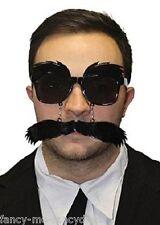 Hombre Años 20 Negro Groucho Disfraz Gafas Bigote Disfraz