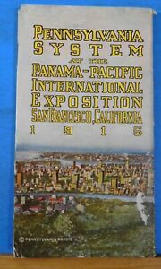 Pennsylvania System at the Panama Pacific International Exposition 1915