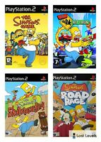 Ps2 - The Simpsons - Choose Your Game Multi Listing
