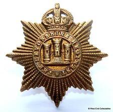 Genuine: The Devonshire Regiment KC - British Army Collar Badge