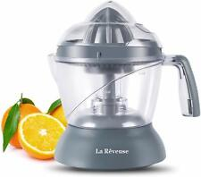 25oz/750ml Electric Citrus Juicer for Grapefruit Orange Lemon Lime Juice (Grey)