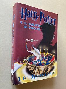 J.K. Rowling - Harry Potter e il calice di fuoco (BROSSURA Salani, 2009)