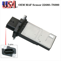 OEM Mass Air Flow Meter Sensor MAF 22680-7S000 For Suzuki Infiniti Nissan Altima