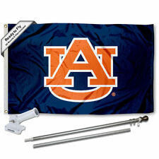 Auburn Blue Flag Pole and Bracket Gift Package