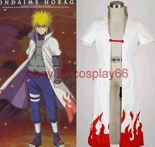 japan anime Naruto Yondaime Hokage Namikaze Minato Cosplay Costume any size