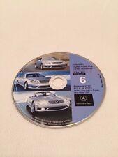 02 03 MERCEDES CL65 SL500 S600 NAVIGATION CD DVD 6 Ohio Valley 2010 UPDATE © E