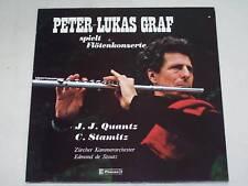Quantz / Stamitz - Peter Lukas Graf - Flötenkonzerte LP